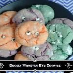 """Happy Halloween! Stay Safe & Enjoy This """"Googly Monster Eye Cookie"""" Recipe"""