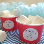 Thing 1 and Thing 2 Snack Cups – Celebrate Dr. Seuss's Birthday