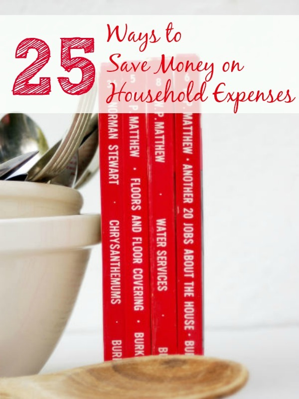 25 Ways to Save