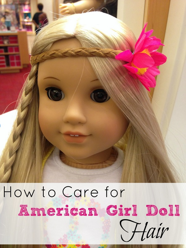 how to care for american girl doll hair. Black Bedroom Furniture Sets. Home Design Ideas