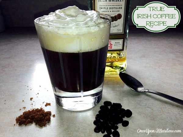 Perfect Cup of Real Irish Coffee Recipe - OUAM