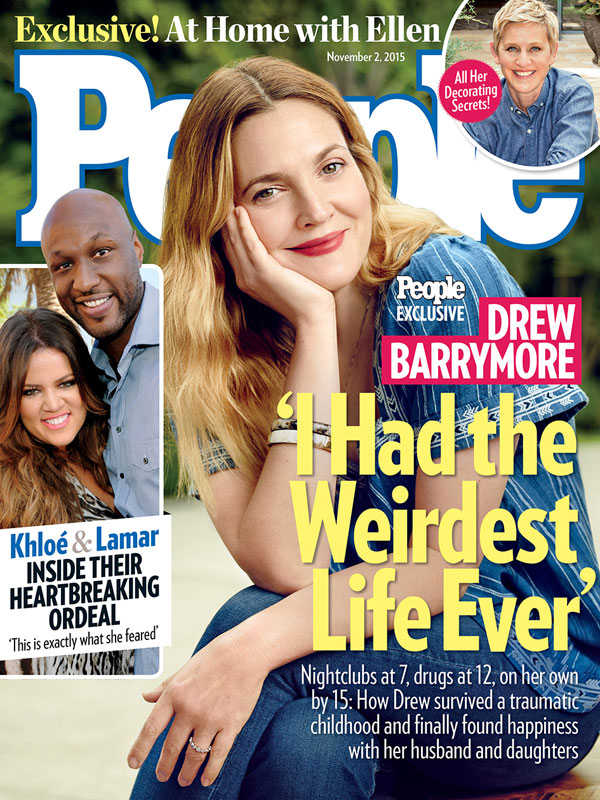 Drew Barrymore Discusses Giving Birth TO Baby Girls In New Interview: Reveals Post Partum Depression!