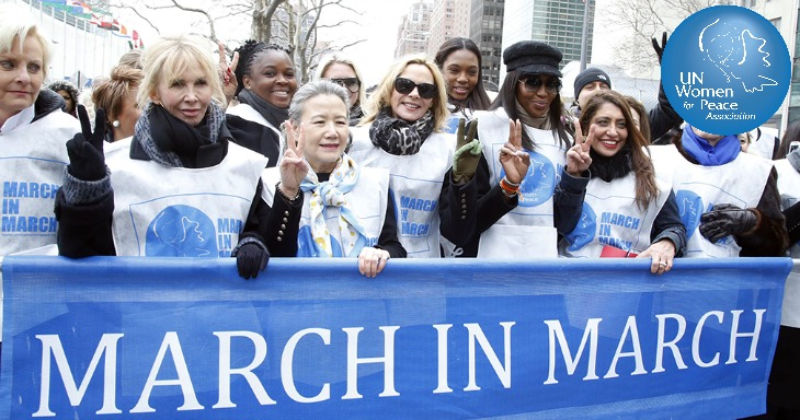 Join UN Women For Peace Association: 'March In March' Annual Event In NYC - Dionne Warwick And Kelly Rutherford Scheduled Speakers