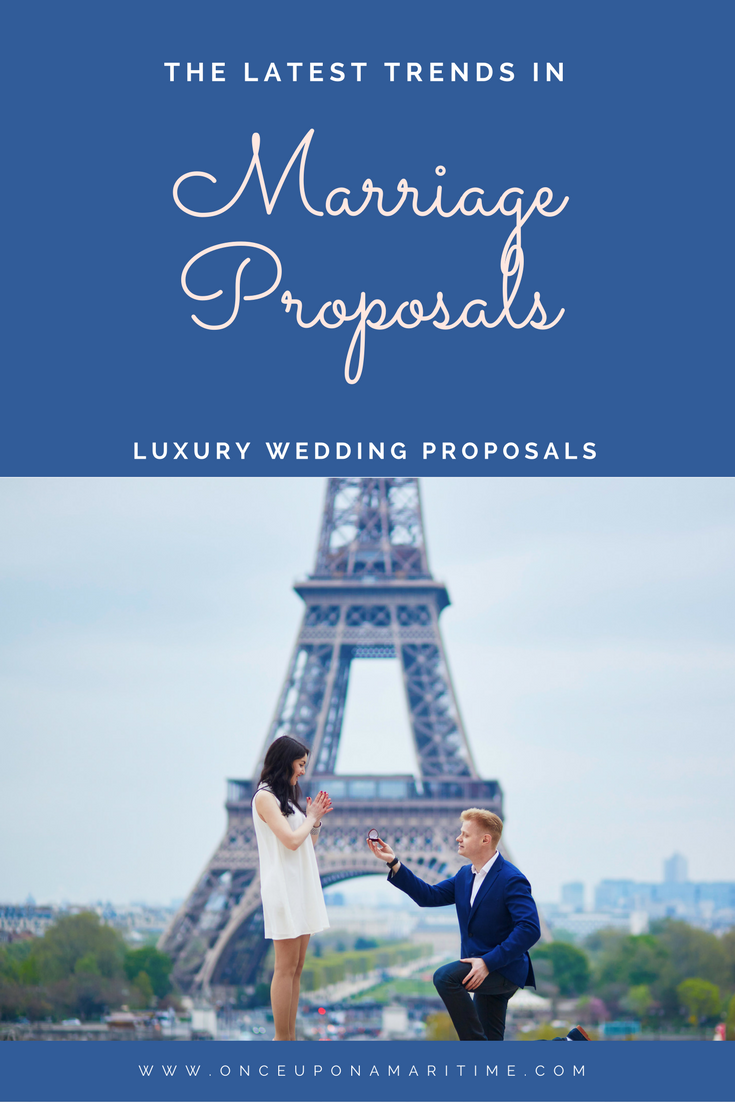 Luxury Wedding Proposals - The Latest Trend In Marriage Proposals