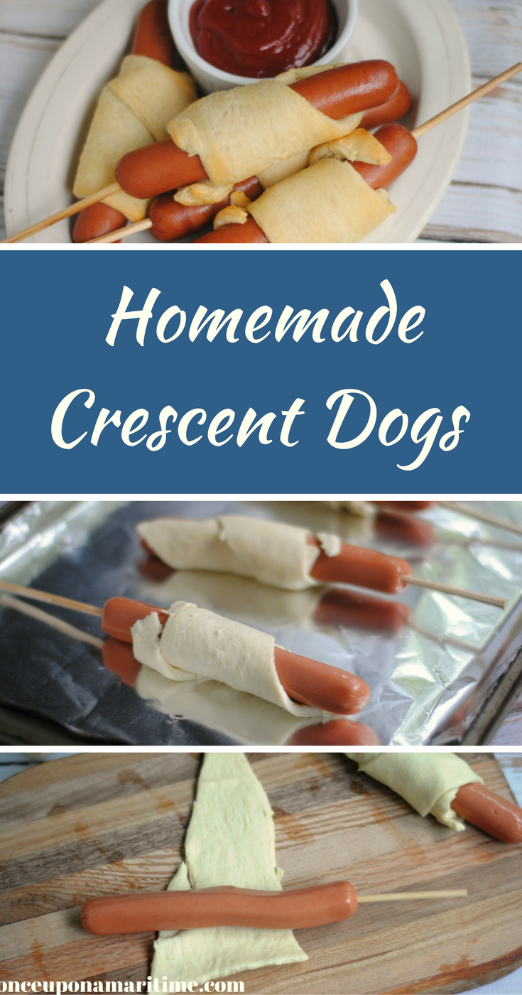 Homemade Crescent Dogs Recipe