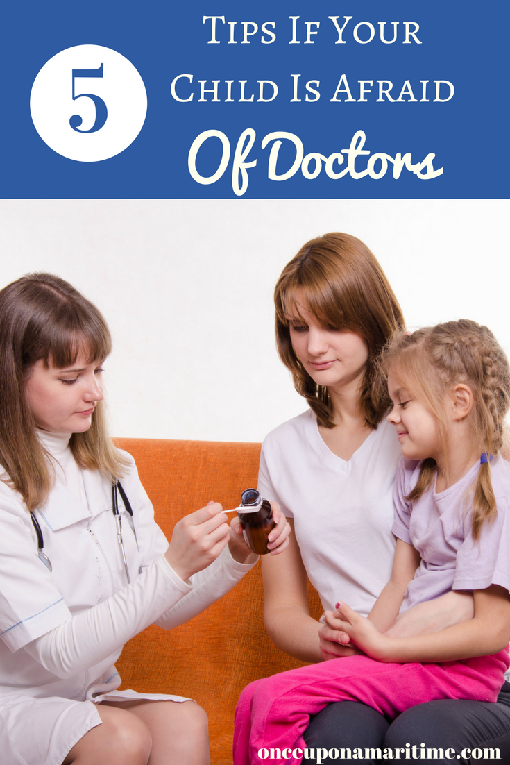 What to Do if your Child is Afraid of a Doctor