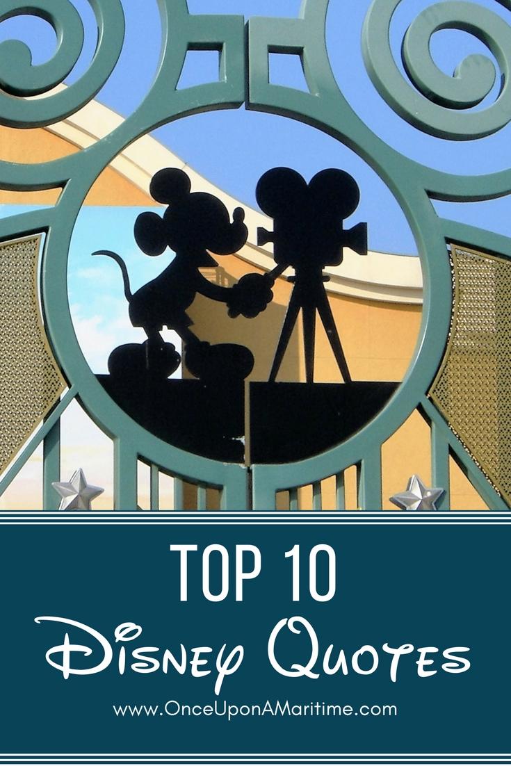 Top 10 Disney Quotes